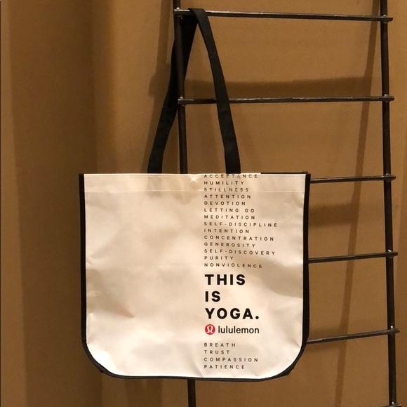 lululemon athletica Handbags - Lululemon Reusable Bag
